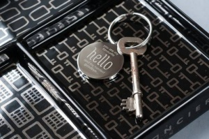 Personalised Keyring - My Favourite Hello
