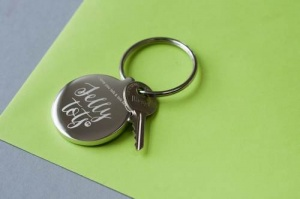 Personalised Keyring - Love You Lots Like Jelly Tots