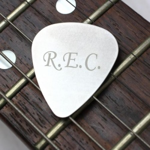 Personalised Plectrum - Initials
