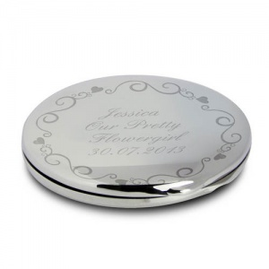 Ornate Swirl Compact Mirror