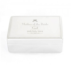 Decorative Wedding Mother of the Bride Jewellery Box