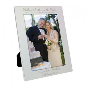 Personalised 5x7 Frame - Mother & Father of the Bride