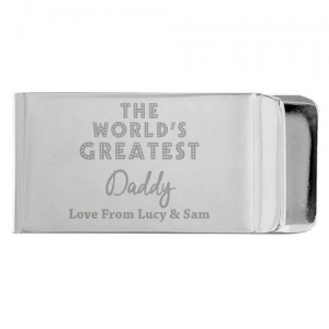 Personalised Money Clip - World's Greatest