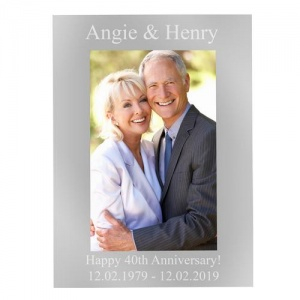 Personalised 4x6 Photo Frame