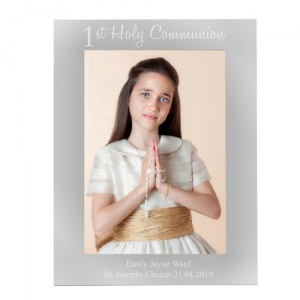 Personalised 5x7 Portrait Photo Frame -  First Holy Communion