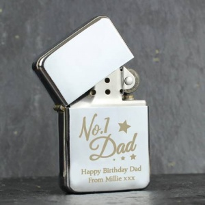 Personalised Lighter - 'No.1 Dad'