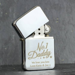 Personalised Lighter - 'No.1 Daddy'