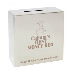 Teddy Square Money Box