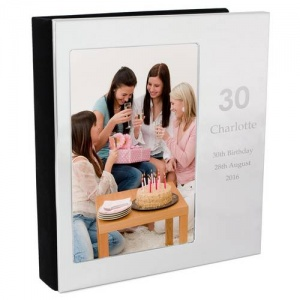 Personalised Photo Frame Album 6x4 - Big Numbers