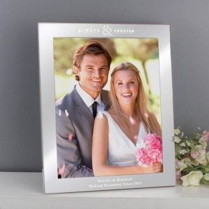 Personalised 10x8 Photo Frame - Always & Forever