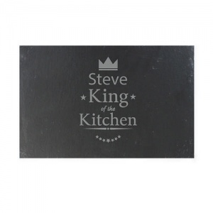 King of the Kitchen Slate Cheeseboard