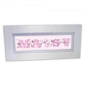 Personalised  Name Frame - Fairy Letter