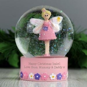 Personalised Snow Globe - Fairy
