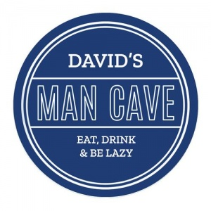 Personalised Heritage Plaque - Man Cave