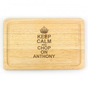 Large Chopping Board - Keep Calm & Chop On
