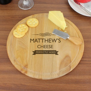 Round Chopping Board - Perfectly Aged
