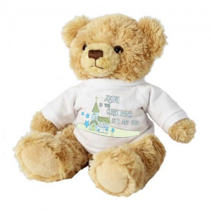 Church Teddy Bear with T-Shirt