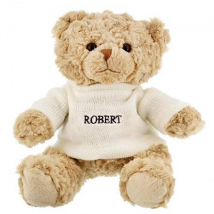 Teddy Bear with Personalised Jumper