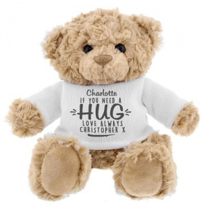 Personalised Teddy Bear - If You Need A Hug