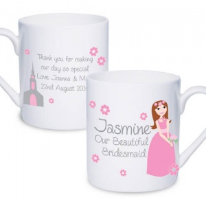 Fabulous Wedding Bridesmaid Mug