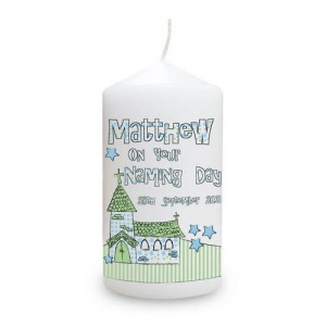 Whimsical Church Candle