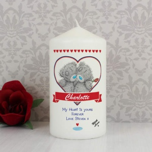 Personalised Tatty Teddy Me to You Couple Candle