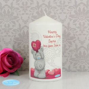 Personalised Tatty Teddy Me To You Candle - Heart