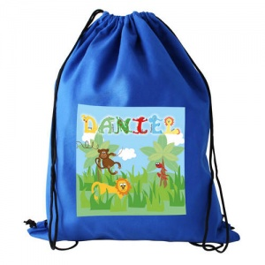 Animal Alphabet Boys Swim/Kit Bag