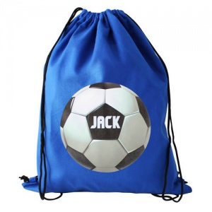 Personalised Swim/Kit Bag - Football