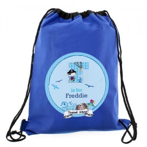 Personalised Swim/Kit Bag - Pirate