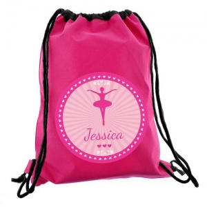 Personalised Swim/Kit Bag - Ballerina