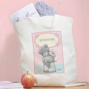 Personalised Me To You Cotton Bag - Daisy