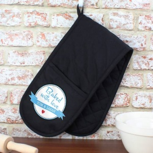 Personalised Oven Glove - Baked With Love