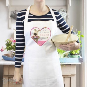 Personalised Boofle Apron - Flowers