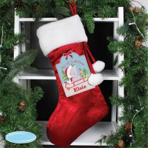 Personalised Me To You Luxury Stocking - My 1st Christmas