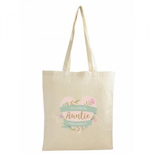 Personalised Cotton Bag - Floral