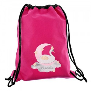 Personalised Swim & Kit Bag - Swan Lake