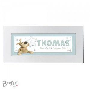 Personalised Name Frame - Boofle It's a Boy