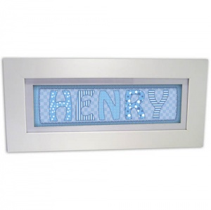 Stitch Name Frame