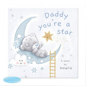 Personalised Tiny Tatty Teddy Book - Daddy You're A Star