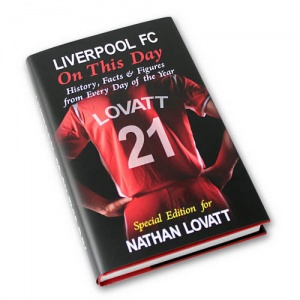 Personalised On This Day Book - Liverpool