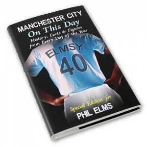 Personalised On This Day Book - Manchester City