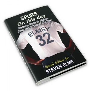 Personalised On This Day Book - Spurs