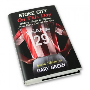 Personalised On This Day Book - Stoke City