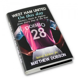 Personalised On This Day Book - West Ham