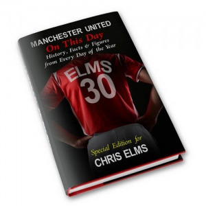 Personalised On This Day Book - Manchester United