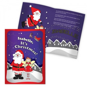 Personalised Fairy Book - 'It's Christmas'