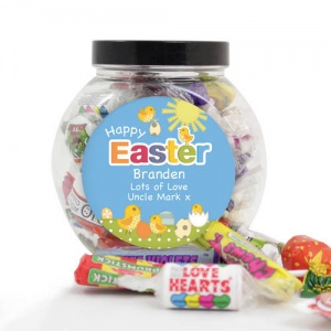 Easter Chick Sweet Jar