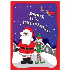 Personalised Book - 'It's Christmas' Elf