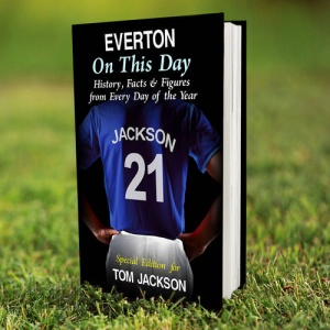 Personalised On This Day Book - Everton
